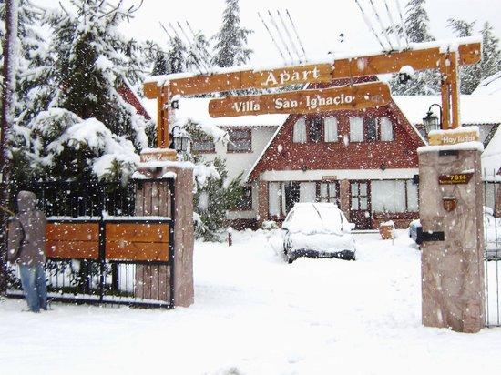 Villa San Ignacio : Vista Invierno