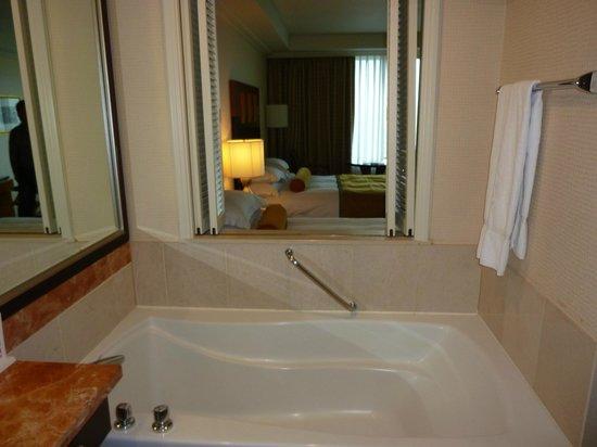 Ramada Plaza Jeju Hotel: バスルームからの眺め