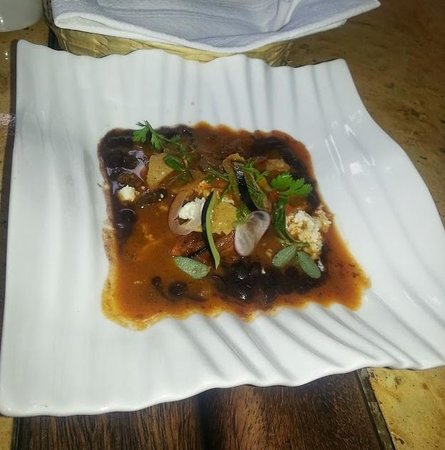 Casa Oaxaca: Mushroom with Beans and Tomato Sauce