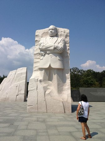 DC by Foot: Martin Luther King Memorial