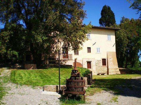 esterni - Picture of Agriturismo Villa di Moriolo, San Miniato ...