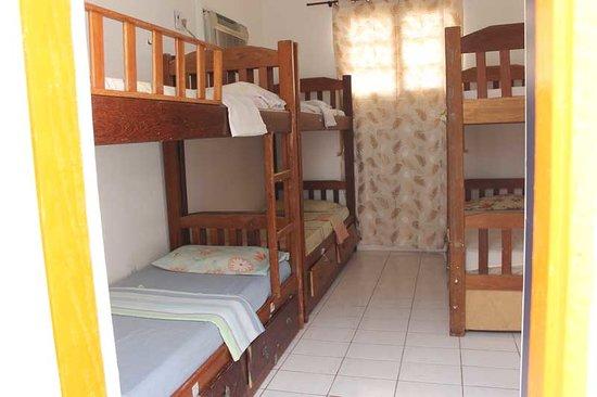 Hostel Amazonas: Dormitórios coletivos.