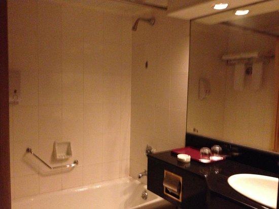 Hotel Jumbo Zhuhai: Bare restroom