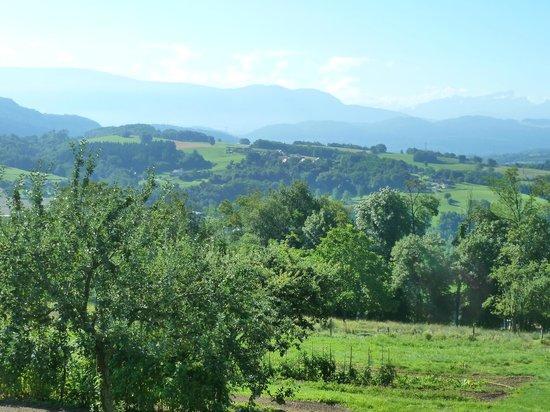 Côté Tilleul: paesaggio dalla terrazza