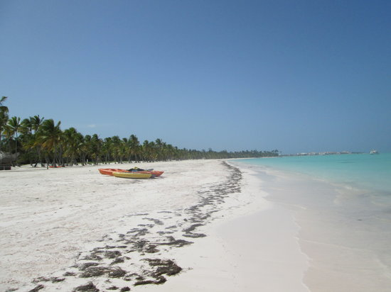 Sanctuary Cap Cana by AlSol : Kayaks are on Juanillo Beach, close by
