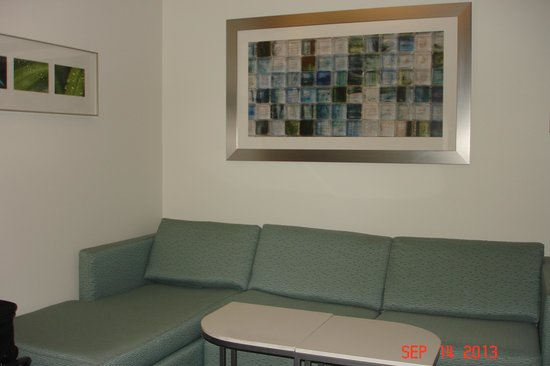 SpringHill Suites Pittsburgh Bakery Square: Sofa