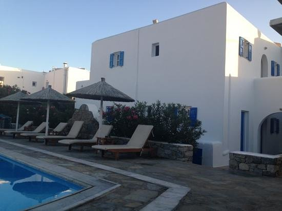 Anemos Hotel-Apartments & Studios: vista dal bar dell appartamento