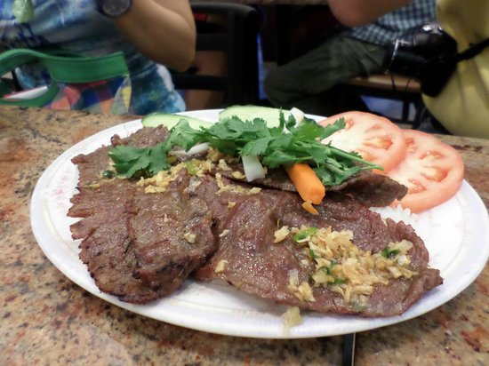 Pho Bang New York : grilled beef
