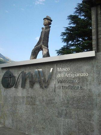 MAV - Museo dell'Artigianato Valdostano di Tradizione: Ingresso al Museo