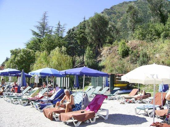 Leonardo Da Vinci Hotel: Hotel beach