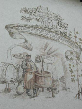 Bierhaeusle Hotel-Restaurant: Bierhaeusle, particolare di una facciata