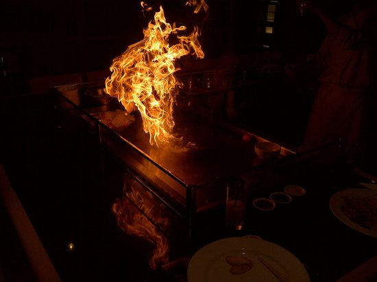 Sapporo Teppanyaki - Manchester: Flames are impressive, but food is more important IMHO