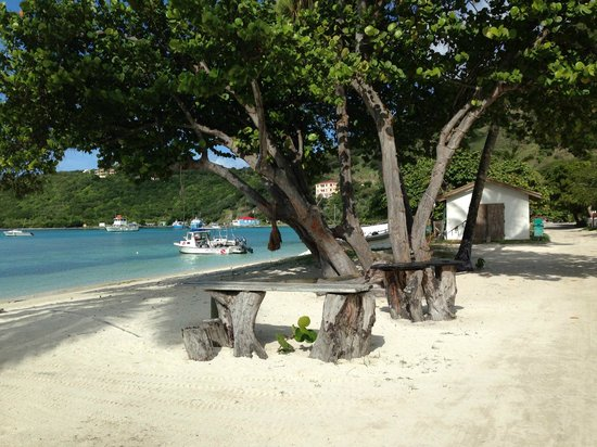 Ivan's Stress Free Guest House & Campground: the beach