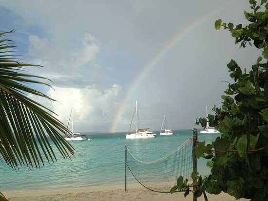 Ivan's Stress Free Guest House & Campground: no rain, no rainbow