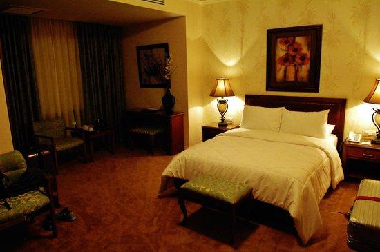 Amman International Hotel: NOTRE CHAMBRE
