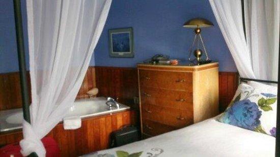 Auberge le Bome: la chambres espace jacuzzi