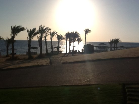 The Oberoi Sahl Hasheesh: Late afternoon view from our suite