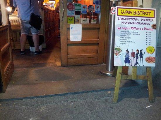 Porta bagno disabili foto di lupin bistrot firenze tripadvisor