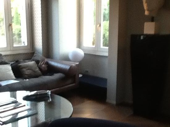 Palazzo Manfredi - Relais & Chateaux: our living room