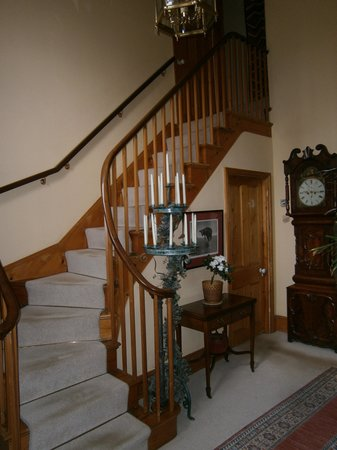 The Old Vicarage: Main staircase