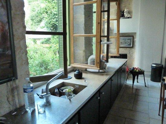 Hotel de la Chasseigne: cucina