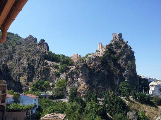 Hotel Sierra de Cazorla: Vista desde la terraza