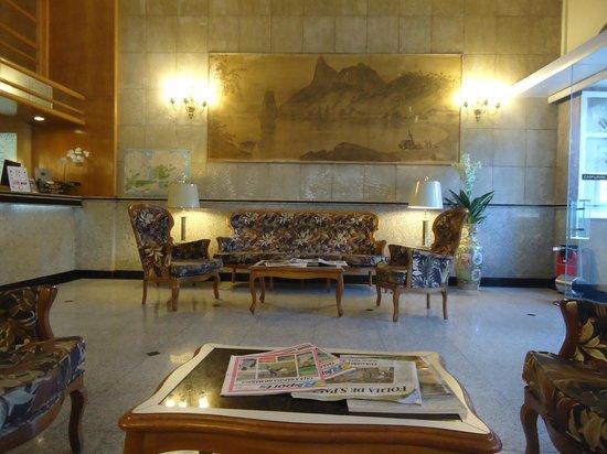 Sala de recepção do Imperial Hotel