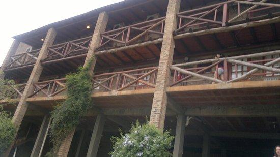 Residencial Guarani: fachada interior