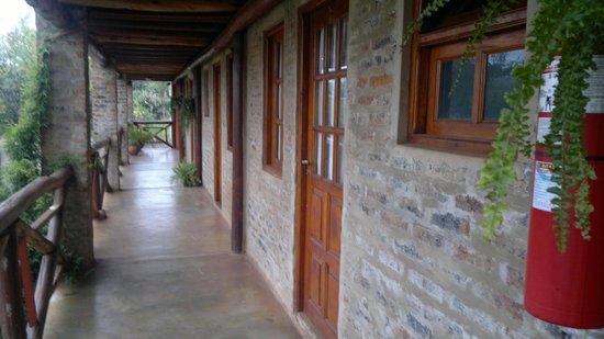 Residencial Guarani: ingreso  a las habitaciones