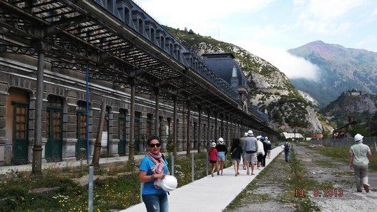 Estacion Internacional de Canfranc : PARTE TRASERA