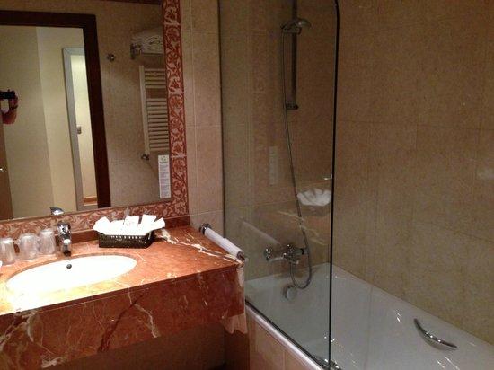 Magic Andorra Hotel: Bad en wastafel