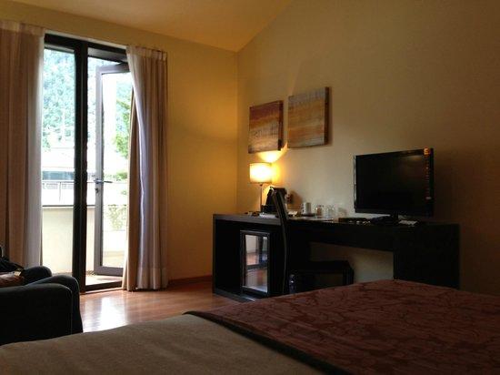 Magic Andorra Hotel: Kamer met het balkon