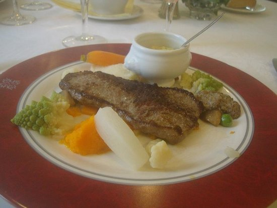 Entr e foie gras magret canard photo de le poelon d 39 or for Quels legumes avec magret canard