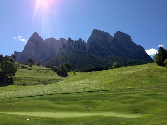 Golf Hotel Sonne: buca 15