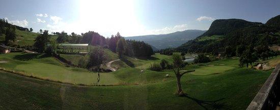 Golf Hotel Sonne: la vista