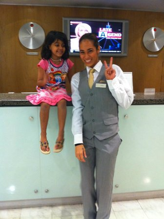Novotel Auckland Ellerslie: Friendly staff at Novatel