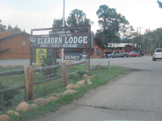Elkhorn Lodge and Guest Ranch: Elkhorn Lodge Estes