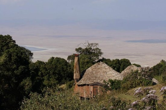 andBeyond Ngorongoro Crater Lodge: views from our room