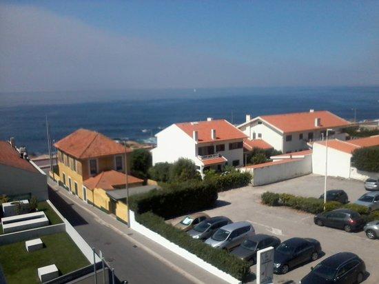 Golden Tulip Porto Gaia Hotel and Spa: vue de la chambre  2°étage coté nord