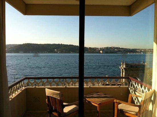 Ciragan Palace Kempinski Istanbul: Grand Deluxe Room's view
