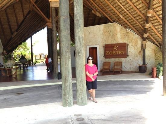 Zoetry Agua Punta Cana: La entrada