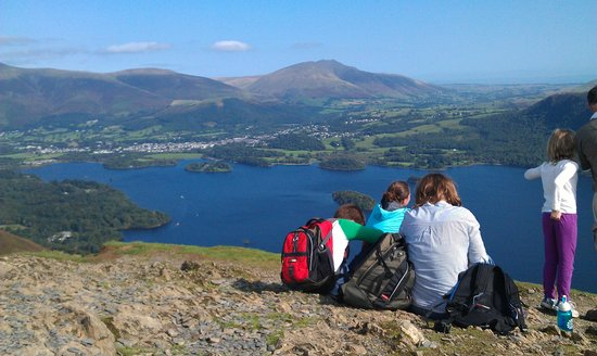 Badgers Wood Guest House: View from Catbells