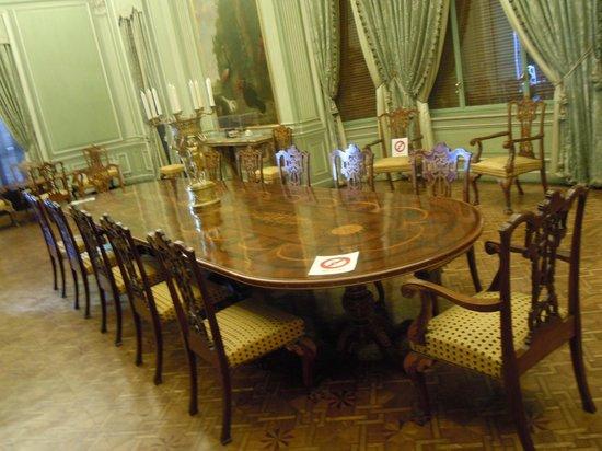 Palau March Museu : Salle à manger