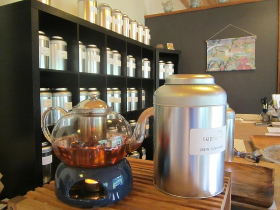 Cowichan Bay, Kanada: Choose your tea