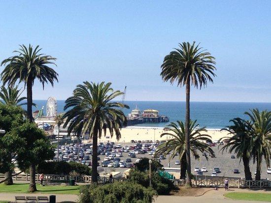 Shore Hotel : vue sur le pier