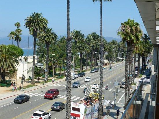 Shore Hotel : vue ocean avenue