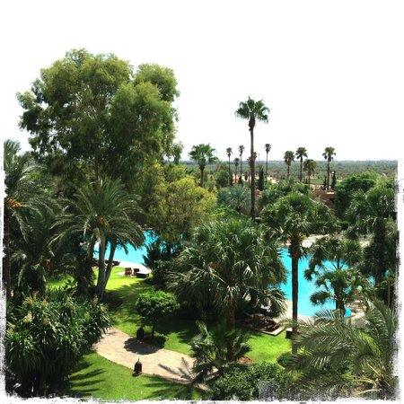 Es Saadi Marrakech Resort - Palace : Vue chambre