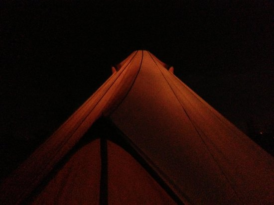The Farm Camp : Night time glow ispecso