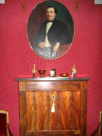 Domaine de la Vivarié : chambre ameublement décoration