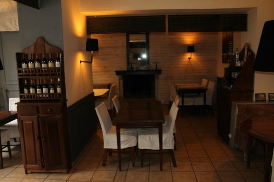 Hotel La Ribaudiere: salle a manger